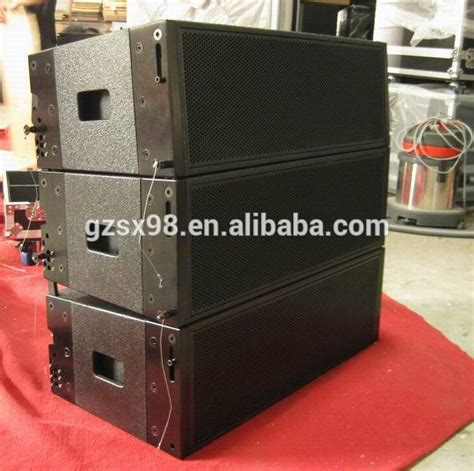 Speaker Aktif Line Array duplo 10 quot powered atividade line array pro sistema de