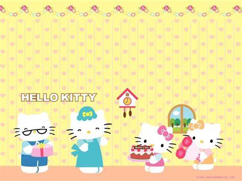 hello kitty wallpaper happy birthday hello kitty birthday wallpapers wallpaper cave