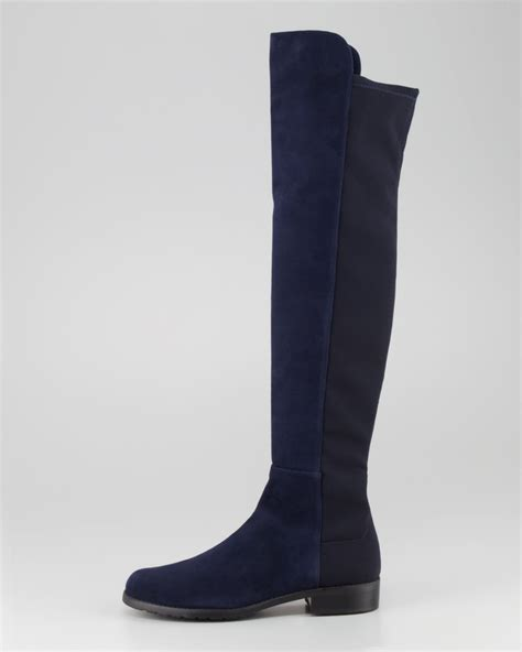 womens navy blue boots popular navy blue knee high boots in shoes