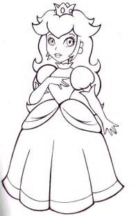 princess peach printable free coloring pages art coloring pages