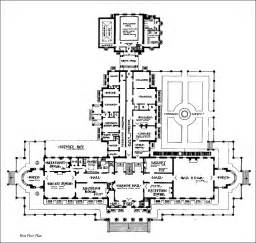 Floor Plans For Mansions by Mansion Floor Plans