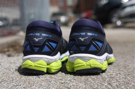 mizuno wave sky review running shoes guru