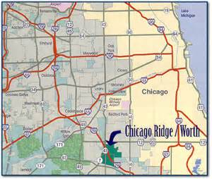 Chicago Ridge Mall Map by Community Profile Network Chicago Ridge Illinois Business