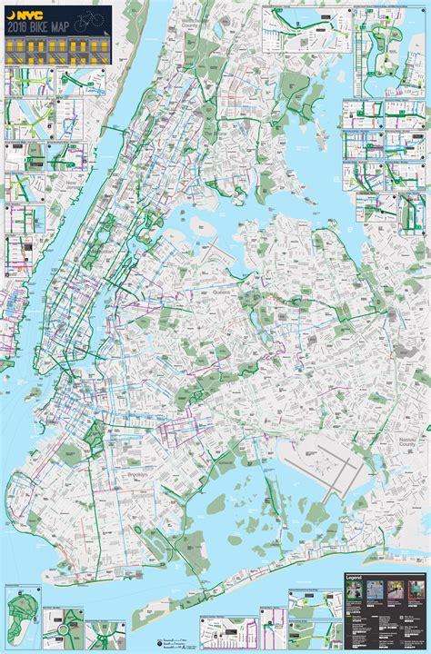 a map of nyc free nyc bike map nyc bike maps