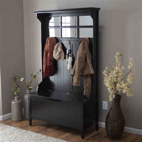 black hall tree storage bench black hall tree storage bench home furniture design