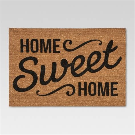 Home Is Where The Is Doormat by Doormat Home Sweet Home Estate 23 Quot X35 Quot Threshold Target