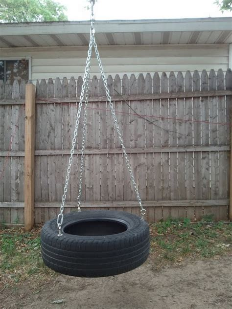 home made tire swing homemade tire swing 70 00 via etsy landscape ideas