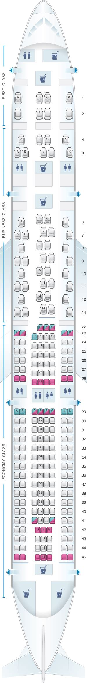 seat map swiss airbus a330 300 seatmaestro