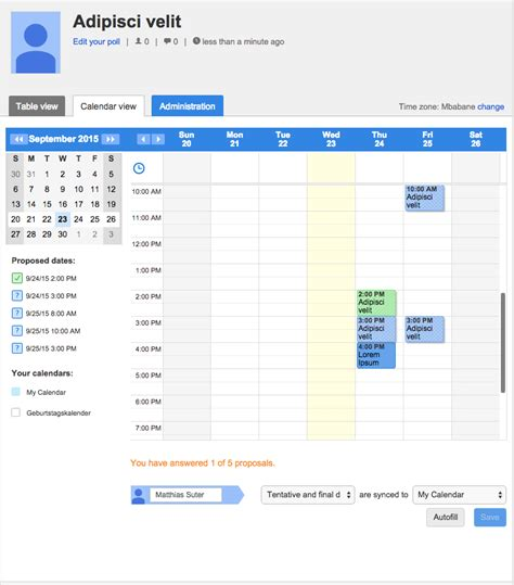 doodle poll iphone doodle launches new calendar integrations for outlook