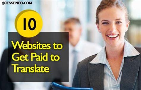 Make Money Translating Online - 10 websites to make money translating