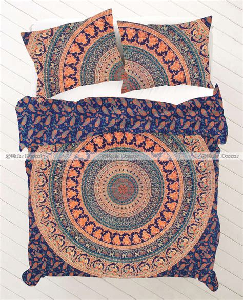 mandala bedding twin size elephant mandala bedding duvet sets hippie doona