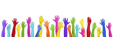 Rainbow Hands Stock Photos   Image: 21574333