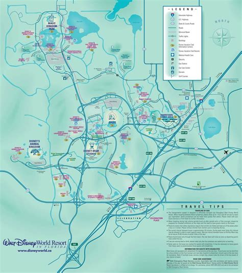 map of usa showing disney world is there a map showing resort locations and disney world