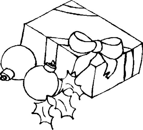 coloring pages of christmas gifts christmas gifts coloring pages to kids
