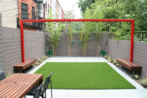 Small Backyard Playground Ideas Gorgeous Backyard Playground Equipment In Contemporary With Side Yard Next To Outdoor