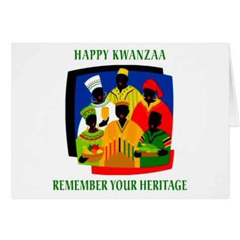 printable kwanzaa cards kwanzaa greeting card zazzle