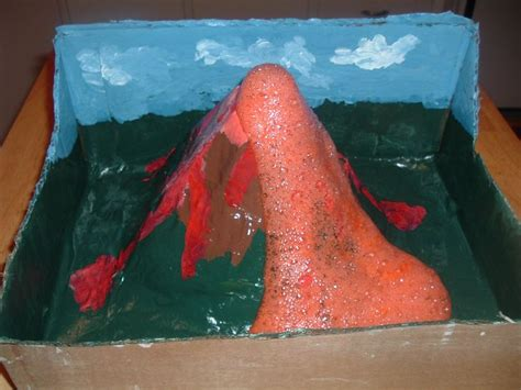 How Do You Make A Paper Mache Volcano - 25 best ideas about a volcano on