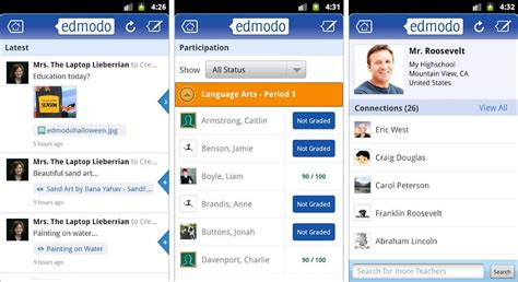 edmodo offline best android apps for teachers tutors and educators