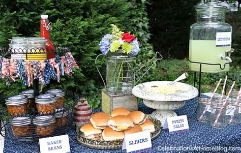 backyard cookout menu backyard bbq inspiration part 1 tabletop buffet