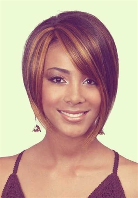 asymetricaial haircut for afician americans most alluring short hairstyles for african american women