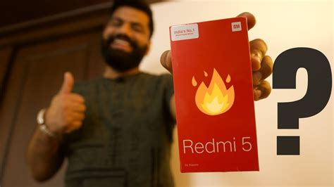 xiaomi redmi 5 unboxing and look new in the budget
