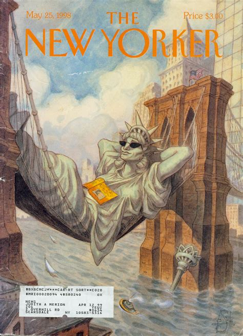 The New the new yorker magazine i portfolio de garreau