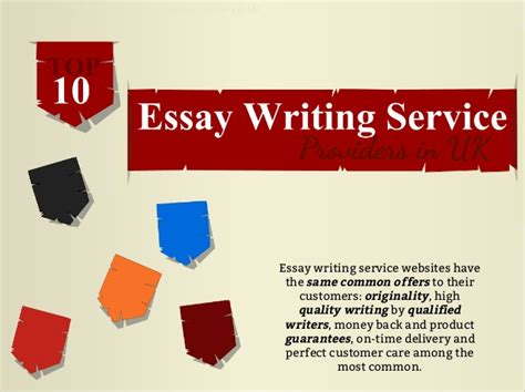Top Essay Writing Service by Top 10 Essay Writing Service Providers In Uk