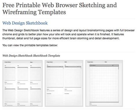 wireframe templates 35 excellent wireframing resources noupe