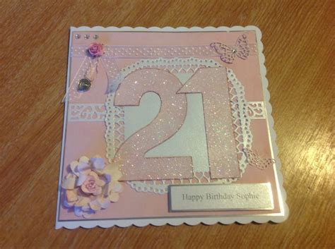 Handmade 21st Birthday Gifts - 17 best images about birthday cards 21st on