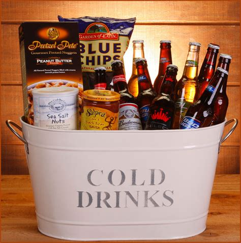 send baskets o bud gift basket send liquor