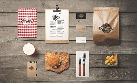 30 High Quality PSD Restaurant Mockup Templates   Web & Graphic Design   Bashooka