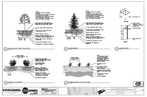 Adobe Home Design cambridge nov 5 2004 draft planting details