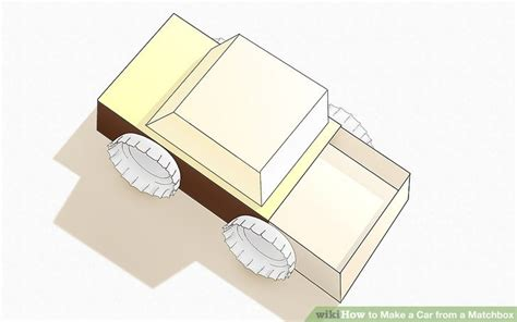How To Make A Car Using Paper - how to make a car from a matchbox 6 steps with pictures