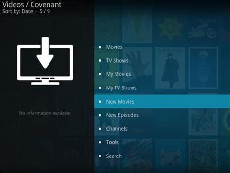 layout kodi installing covenant add on through ares wizard guide