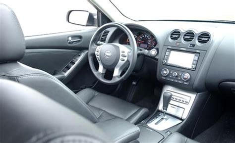 Nissan Altima Black Interior by Car And Driver