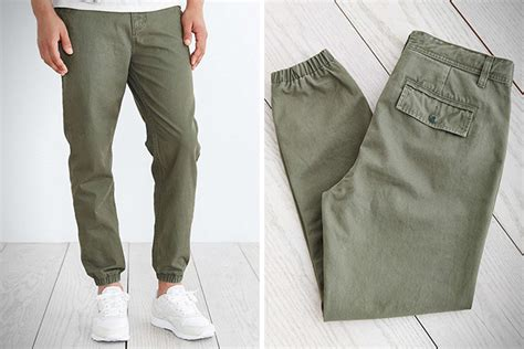 Cotton Lab Essential Jogger Cargo Olive no sweat 18 best jogger for hiconsumption