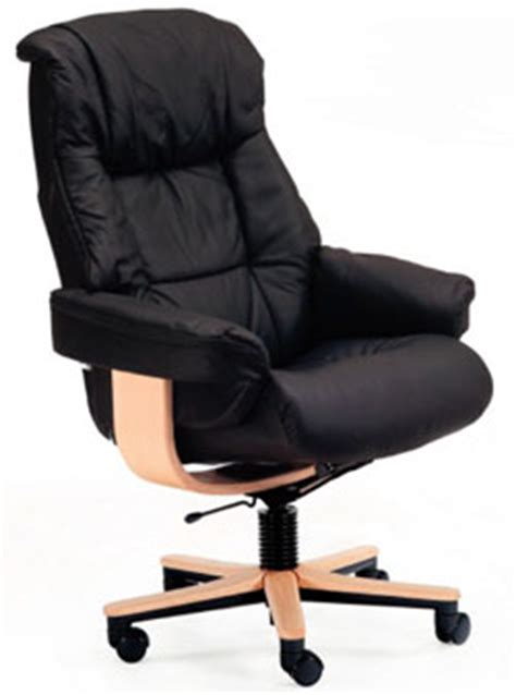 Small Leather Desk Chair Fjords 855 Loen Soho Ergonomic Leather Office Chair Scandinavian Lounge Chair