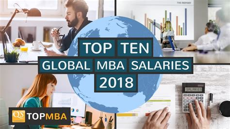 Qs Top Mba Careers by Top 10 Global Mba Salaries Qs And Salary Trends