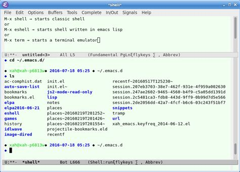 tutorial emacs linux emacs run shell in emacs