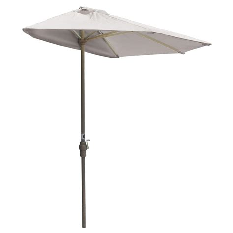 5 Foot Umbrella Patio Blue The Wall Brella 7 5 Ft Patio Half