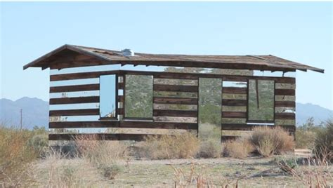 Mirrored Cabin by The Cellar Image Of The Day