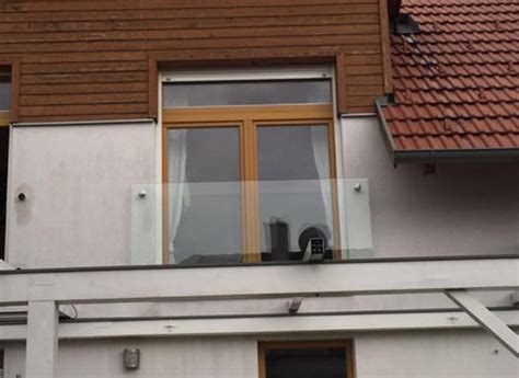 französischer balkon glas stunning glas franz 246 sischer balkon gallery