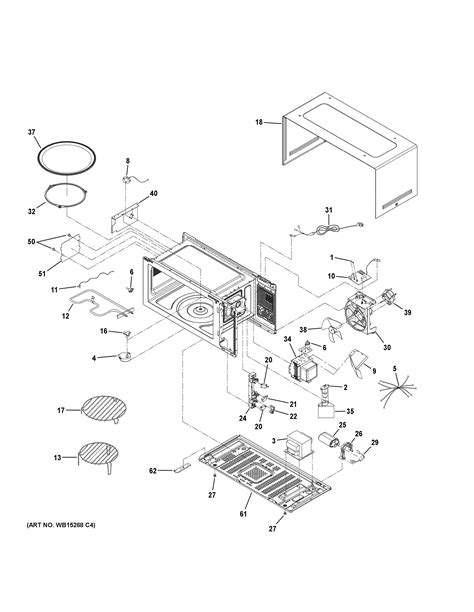 Assembly View for OVEN CAVITY PARTS | PEB9159DJ2WW
