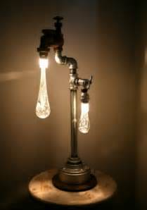 light looking ls in industrial and retro style made of recycled