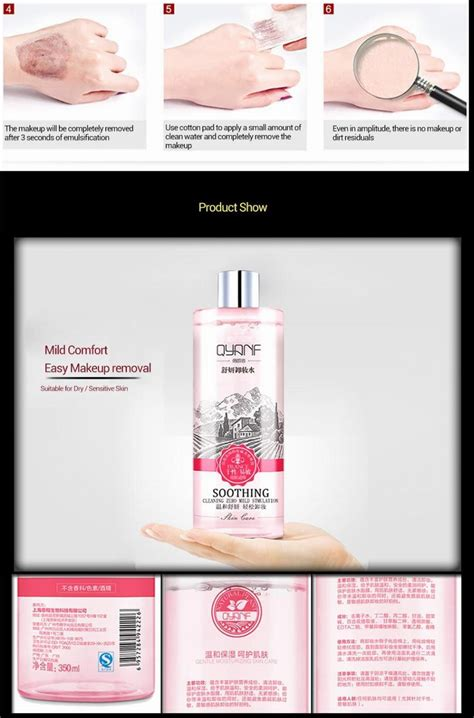 Moderate Detox by Qyanf Moderate Cleansing Makeup Remover Skin Care