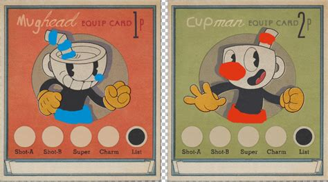 Cuphead Template Card by Mughead Cuphead Skin Mods