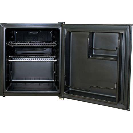 Small Bar With Refrigerator Mini Vintage Retro Bar Fridge 46 Litre All Black With