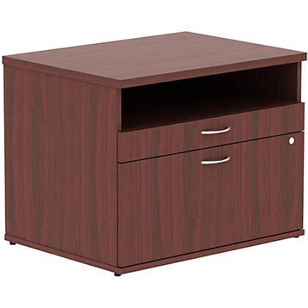 credenza open lorell relevance series open credenza file cabinet