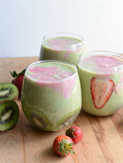 3 fruit smoothie recipes strawberry kiwi smoothie recipe healthy ideas for