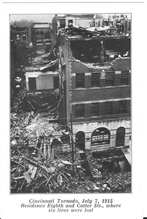 Cincinnati Area Tornado Photos - 1915